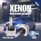D1S D1R D1C 10000K HID Xenon Headlight Light Bulbs OEM Direct Replacement Blue