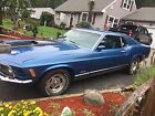 1970 Ford Mustang Mach I Original 1970 Ford Mustang Mach 1, 351 Cleveland V8 four barrel numbers matching