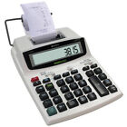 NEW Quick Receipt Smart Printing Calculator w/ Paper Roll For Accounting Records