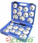 """23pc Aluminum Alloy Cup Type Oil Filter Cap Wrench Socket Removal Set 1/2""""Dr."""