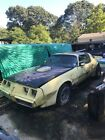 1979 Pontiac Trans Am  1979 Trans Am yellow pontiac 2nd owner 455 olds motor