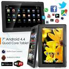 7 inch Android 4.4 A33 Quad Core Tablet PC 8GB WIFI Bluetooth Touch Screen  D5G7