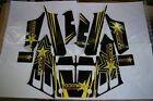 Yamaha Banshee full graphics kit decals Rockstar 545