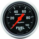 AutoMeter 3363 Sport-Comp Electric Fuel Pressure Gauge