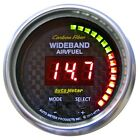 AutoMeter 4778 Carbon Fiber PRO Wideband Air Fuel Ratio Gauge