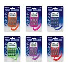 BAZIC 8-Digit Pocket Size Calculator with Neck String Teaching Material