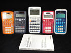 Lot of Texas Instruments TI-34 - Casio fx-9750GA TI-30X 2 S Graphing Calculator