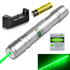 20Miles Green 1Mw 532nm Laser Pen Visible Beam Military Light&18650 Battery&Char