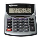 INNOVERA 15927 Portable Minidesk Calculator, 8-Digit LCD