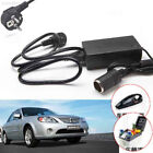 E412 Car Power Converter 220V To 12V Black Car Fan for Power Supply Adapter