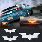 B697 Stock 3D Bat Carbon Fiber Back Tail Vinyl Car Sticker Decor Knight Universa