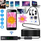 WiFi HD Waterproof For iPhone Android Endoscope Inspection Video Camera 5M TOP