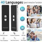Bluetooth Pocket Smart T8 40 Languages Translator Voice Instant Multilingual