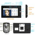 """2.4G 7"""" Doorbell Video Door Phone DoorBell Intercom System 1-Monitor 1-IR Camera"""