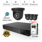 iCare-4K 4CH NVR Smart Analysis Security Kits with Cameras