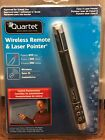 quartet wireless remote & laser pointer --- new in sealed package