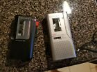 Lot of 2 SONY M-530V AND SONY M-470 MICROCASSETTE RECORDERS SOLD FOR PARTS