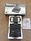 Panasonic VSC RR-830 Cassette Transcriber Recorder w/ Foot Pedal & Instructions