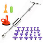 Paintless Dent Repair Remover Kit PDR Dent Puller Pro Slide Hammer Tools 116501