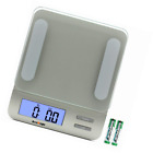 Accuweight 207 Digital Kitchen Multifunction Food Scale for Cooking with Large B