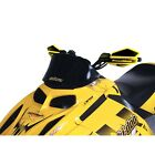 Powermadd 13021 Cobra Windshield 9.5in. Low Black Ski-Doo GTX GSX Summit More