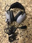 Softcomm Prince Aviation Headset Soft Comm Headphones & Microphone Like New