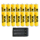 16pcs BXE 18650 Battery 9800mAh Li-ion 3.7V Rechargeable Batteries Cell +Charger