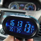 Car LCD Clock Vehicle Voltage Automotive Accessory Digital