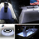 WHITE LED BOAT LIGHT STRIP Marine digital Lighting Package -  easy 2 wire connec