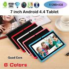 "7"" LCD Screen Android 4.4 Laptop Quad-Core Tablet WIFI 512MB 4GB Support TF Card"