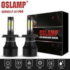OSLAMP H4 HB2 9003 1400W 4 Side LED Headlight Hi/Lo Beam HID Bulb for Arctic Cat
