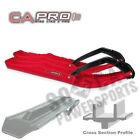 C&A PRO BX Snowmobile Skis RED Arctic Cat XF 9000 Cross Country Ltd (2017-2019)