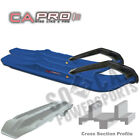 C&A PRO XCS Snowmobile Skis BLUE Ski Doo MX Z Renegade 600 H.O. SDI (2005-2008)