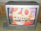 """Magnavox MWC13D6 13"""" Color CRT TV DVD Combo Television with Remote"""