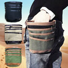 Metal Detector Finds Pouch Waist Bag Canvas Hook Pockets Bag Metal Detecting Acc