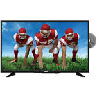 RCA 32-Inch HD LED TV with Built-in DVD Player & Remote Control