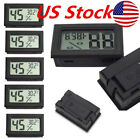 5X Mini Digital LCD Indoor Temperature Humidity Meter Thermometer Hygrometer US