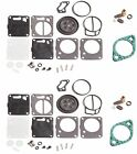 Sea Doo SPX 93 94 95 Dual Carb Rebuild Kit With Needle Seat & Base Gaskets