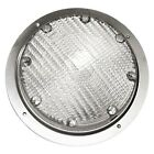 Arcon Round Clear Lens Chrome Case Incandescent Porch Light