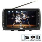Portable 7 Inch LCD Digital HD Television TV - ATSC/NTSC Tuner USB SD Slots