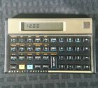 Hewlett Packard 12C financial calculator With case Works with battery