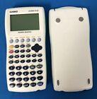 Casio fx-9750G PLUS Power Graphic Calculator w/ cover, aqua green