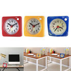 3pcs Travel Alarm Clock with Snooze & Light Silent Ascending Beep Sound