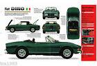 FIAT DINO IMP Brochure: 1968,1969,1970,.........