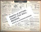1935 Pierce Arrow EIGHT Series 238 & 244 Model 845 AEA Tune Up Chart
