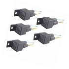 ESUPPORT Car Relay 12v 40a Spst 4pin Socket Pack of 5