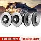 Premium Front Brake Rotors + Rear Brake Drums For Honda Civic 2006-2011