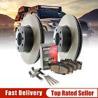 [Kit341] Rear Brake Rotors and Ceramic Brake Pads w/Hardware
