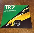 1975 Triumph TR7 Sports Car Sales Brochure Color Folder dealer literature