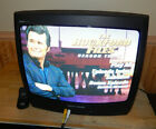 "Magnavox 19 inch CRT TV Color TV 19"" CRT Retro Gaming TV with Remote"